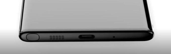 Samsung Galaxy Note 10 Unterseite