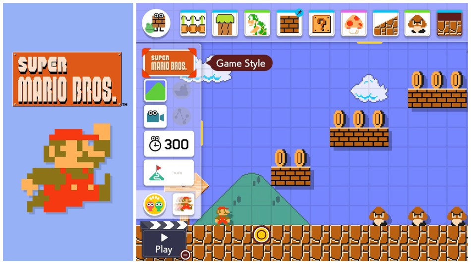 Super Mario Maker 2 Screen1