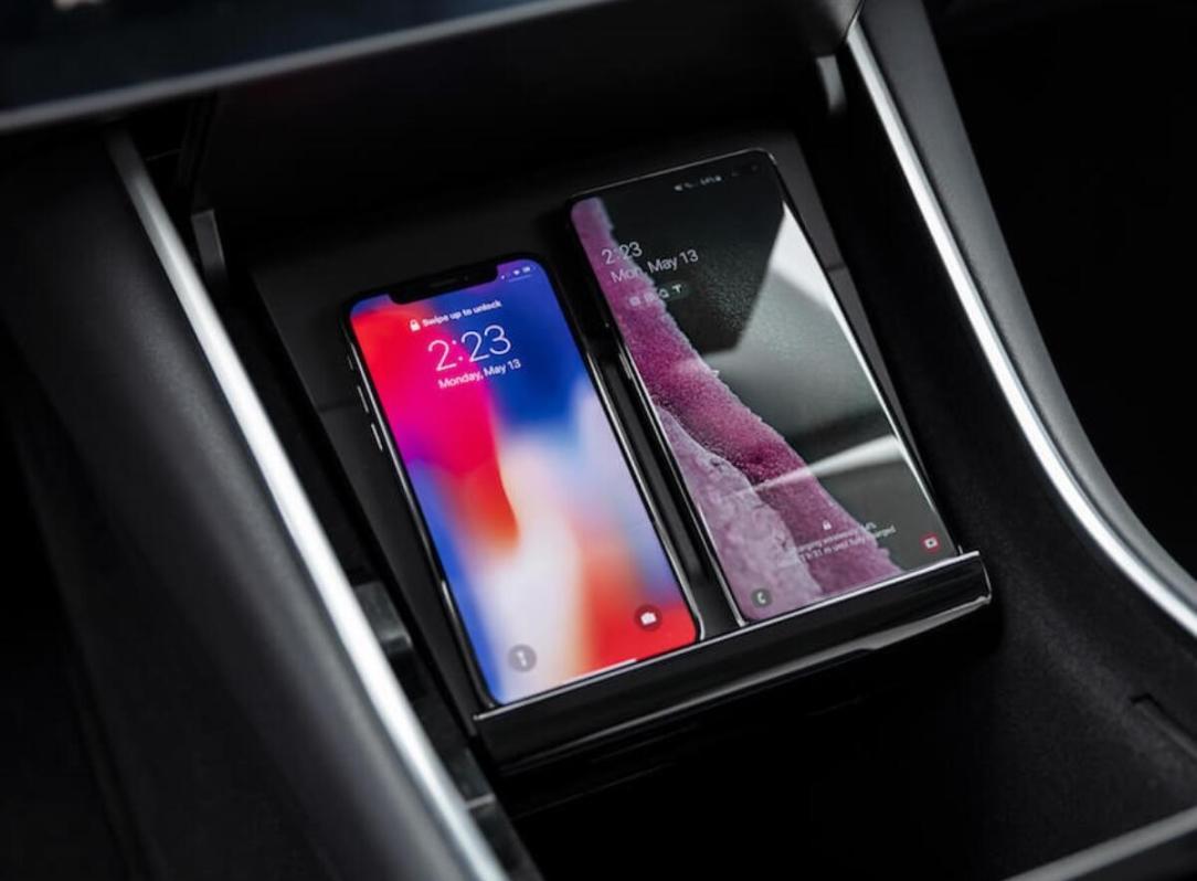 Tesla Wireless Phone Charger Model 3 Header