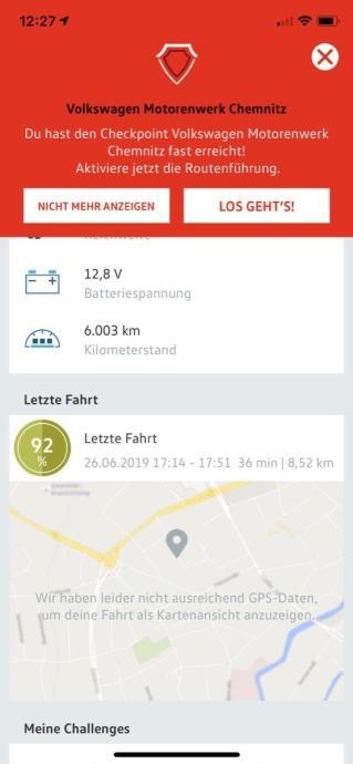 Volkswagen Connect App 2