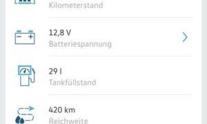 Volkswagen Connect App 3
