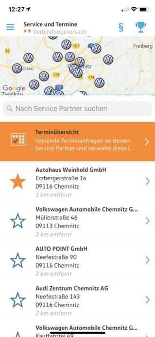 Volkswagen Connect App 7