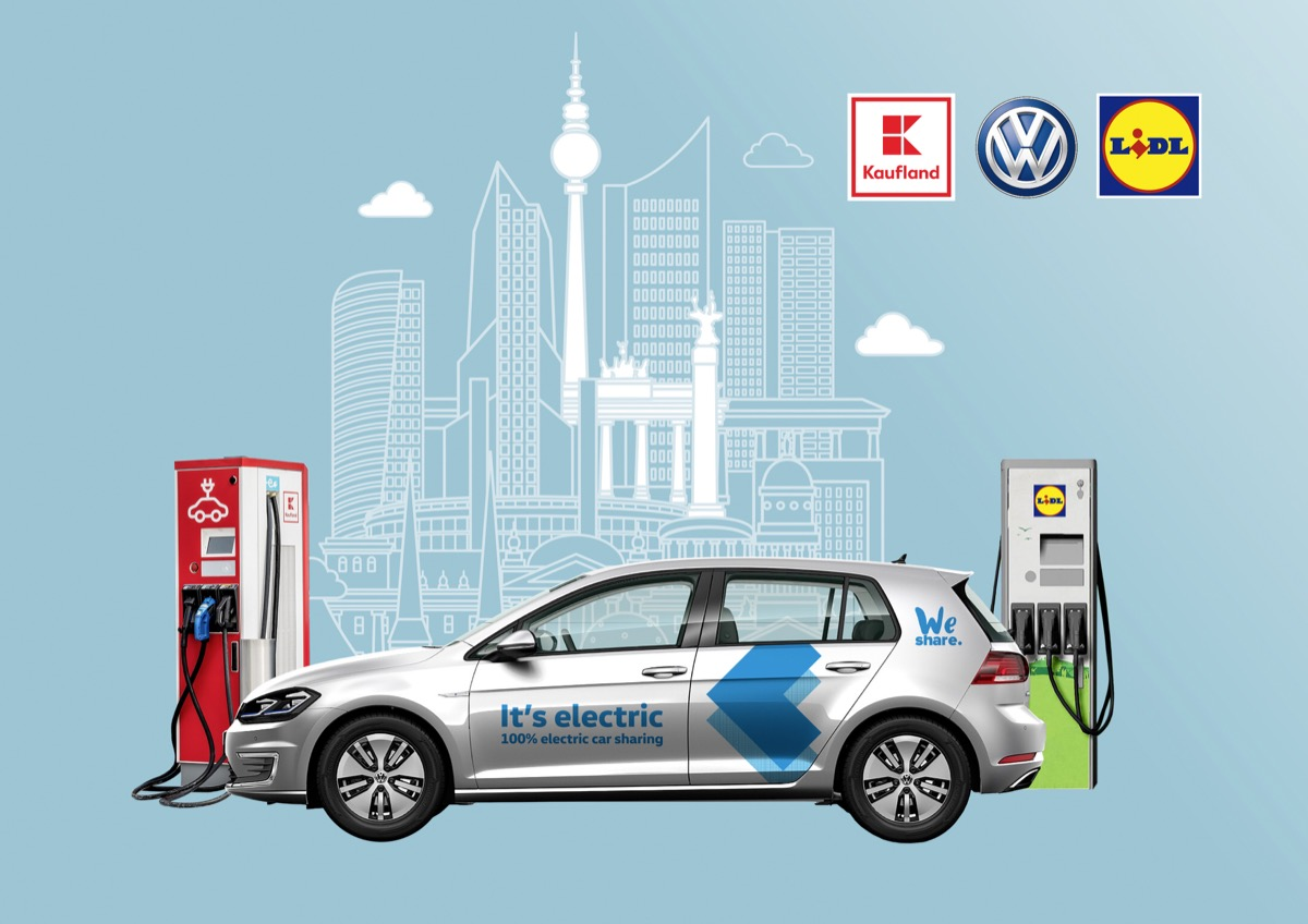 Volkswagen And Schwarz Group To Be Strategic E Partners