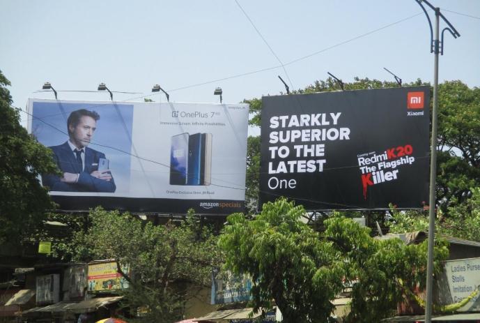 Xiaomi Oneplus Werbung