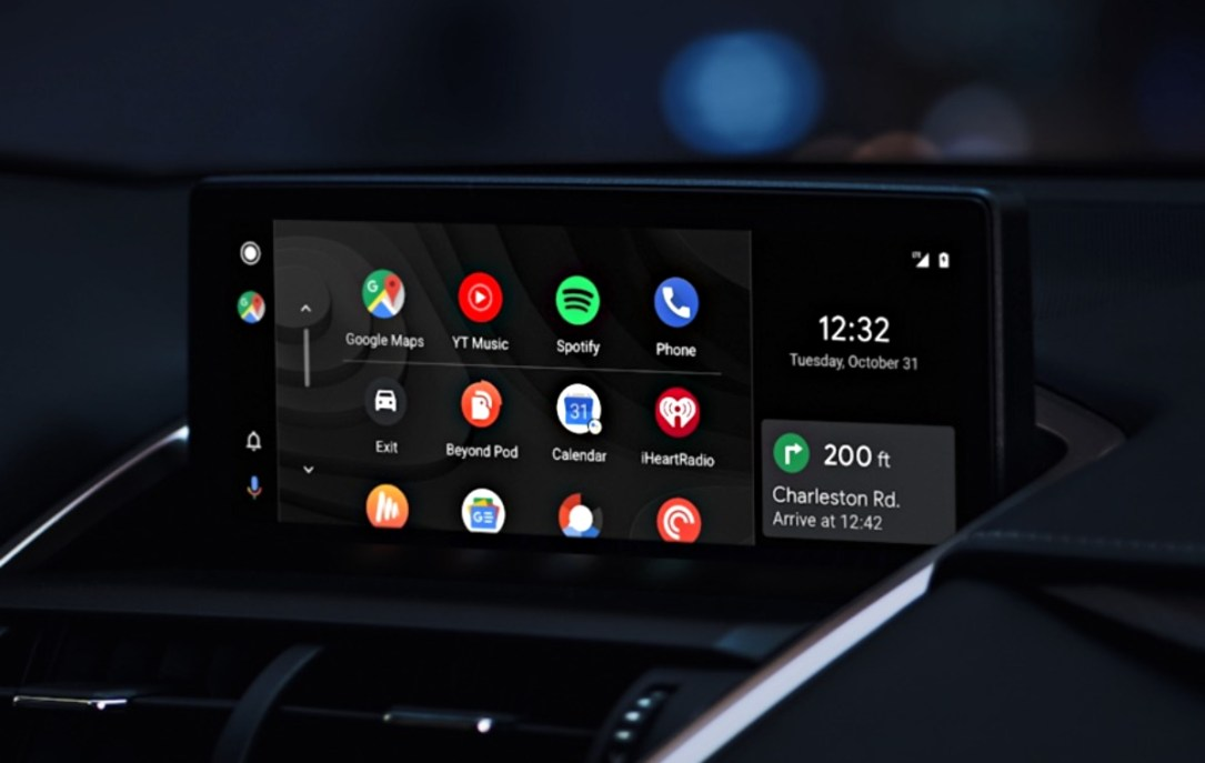 Android Auto Design Header