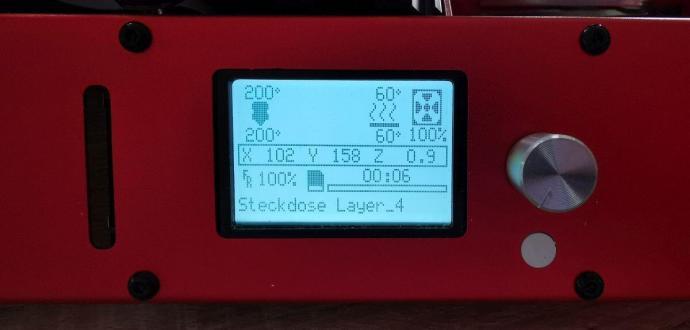 Dateiname Und Layer Im Display