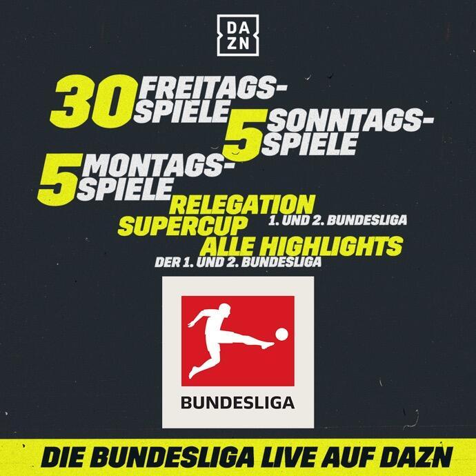 Dazn Bundesliga Overview