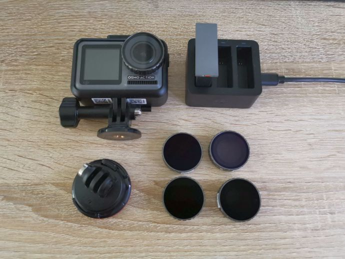 Dji Osmo Action Cam Lieferumfang