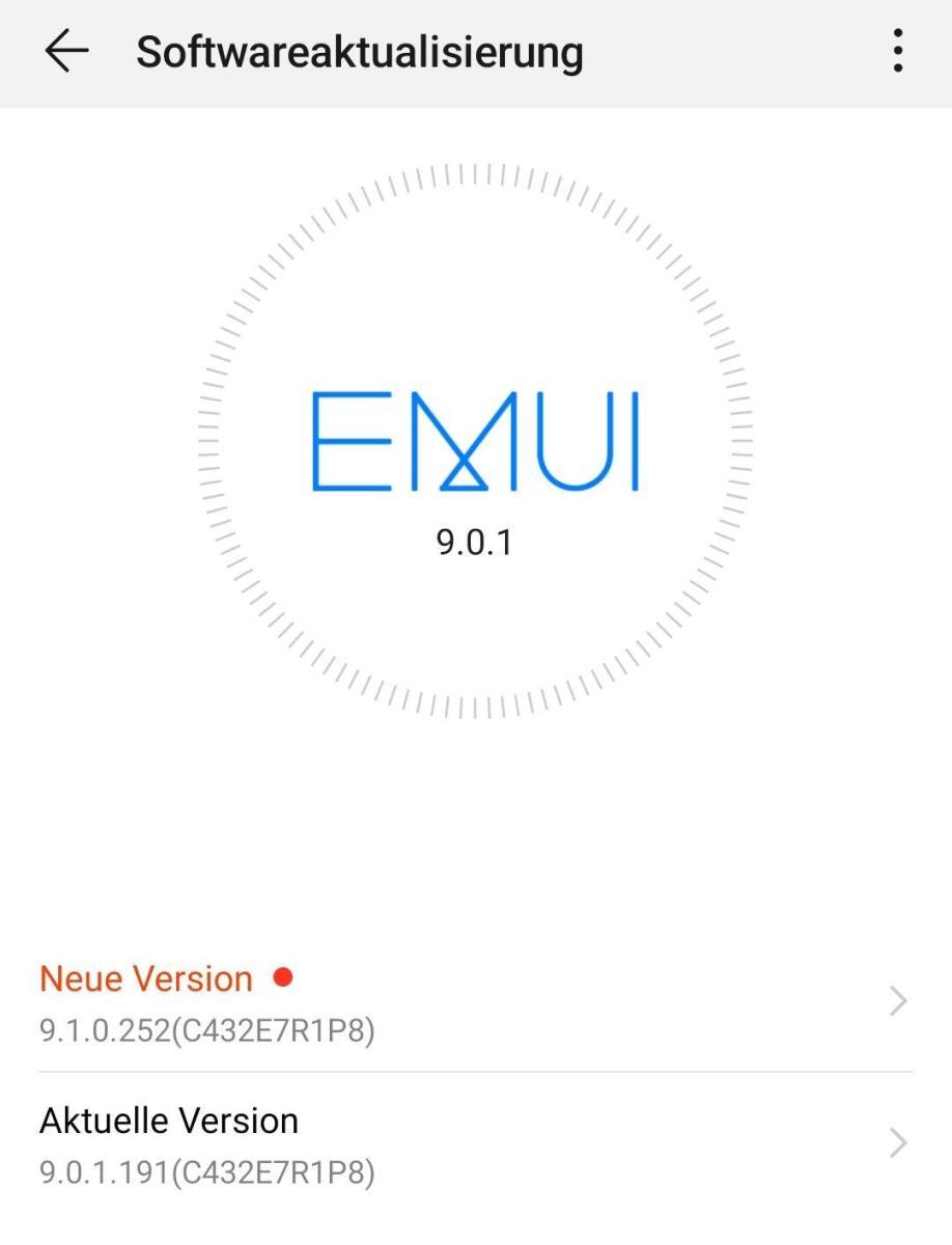 Emui 9.1 Mate 9