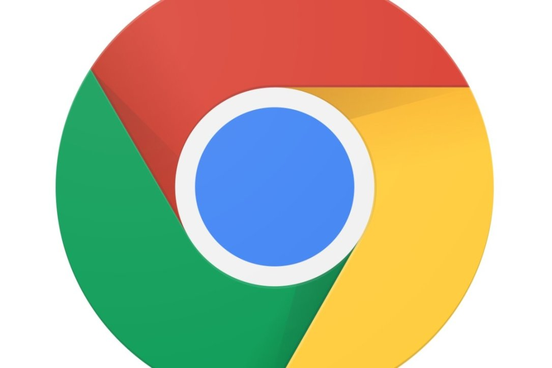 Google Chrome Logo Header