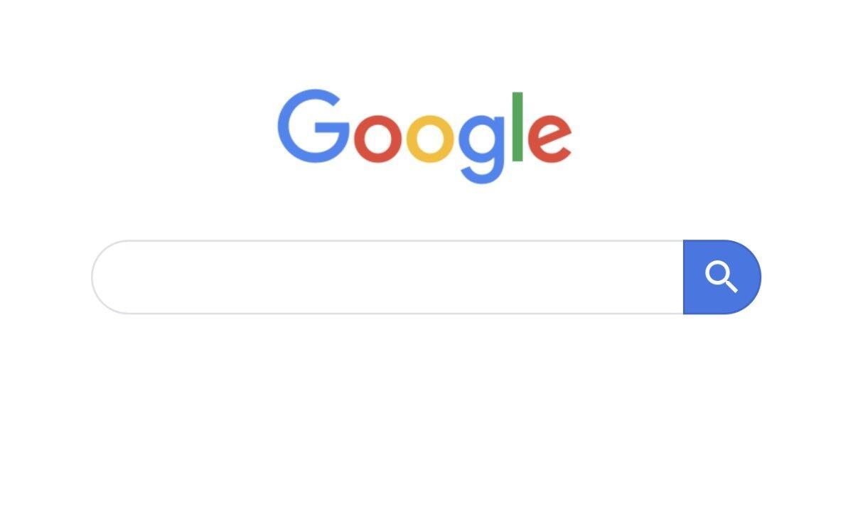 Google Suche Header