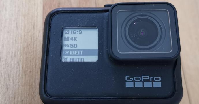Gopro Frontdisplay Settings