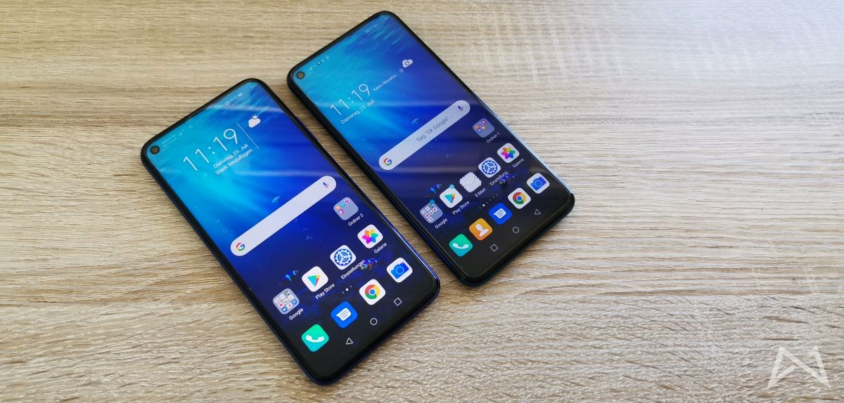 Honor 20 Und Honor 20 Pro Display