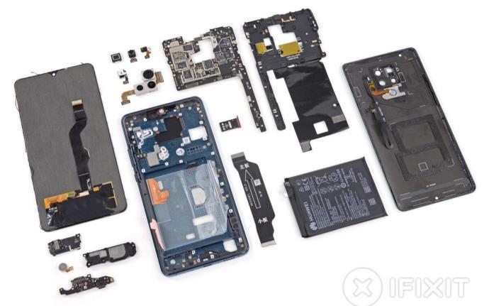 Huawei Mate 20 X 5g Teardow