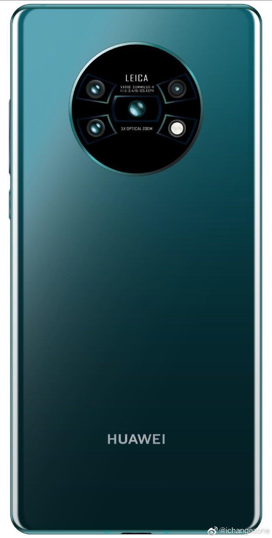 Huawei Mate 30 Back Leak