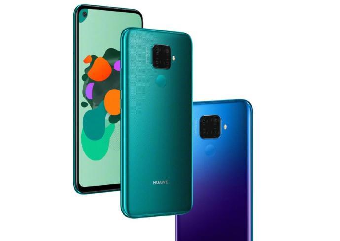 Huawei Nova 5i Pro Header