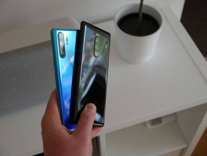 Huawei P30 Pro Sony Xperia 1 Test1