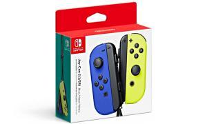 Nintendo Switch Joy Con Blau Gelb