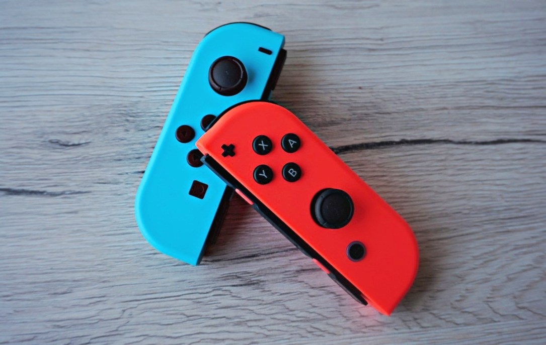 Nintendo Switch Joy Con Header