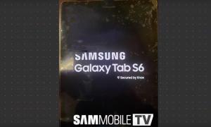 Samsung Galaxy Tab S6 Leak Front