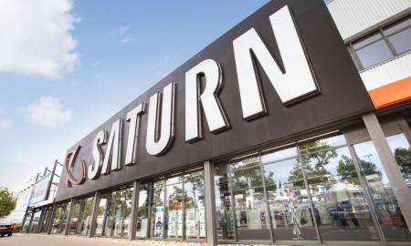 Saturn Logo Header