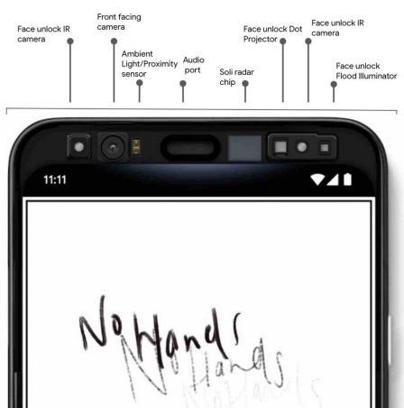 Soli Pixel 4 Sensor