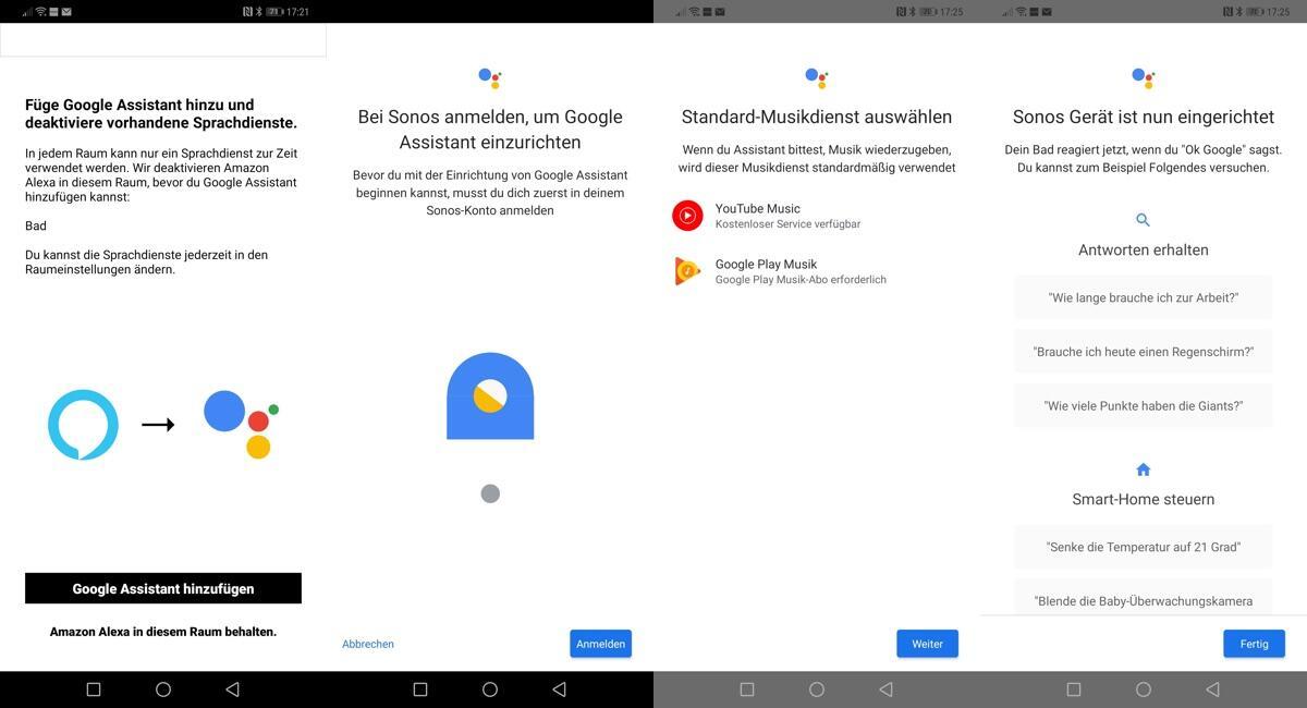 Sonos Mit Google Assistant