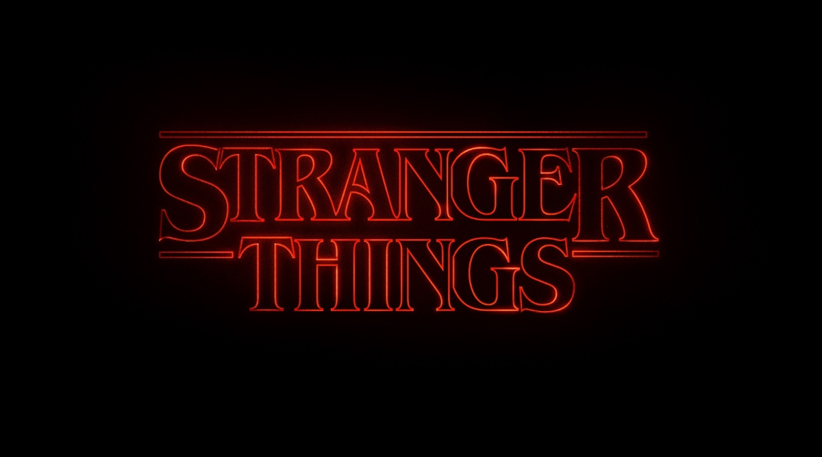 Stranger Things Logo Header