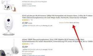 Suchergebnis Amazon Works With Alexa