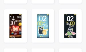 Xiaomi Mi Band 4 Watchfaces