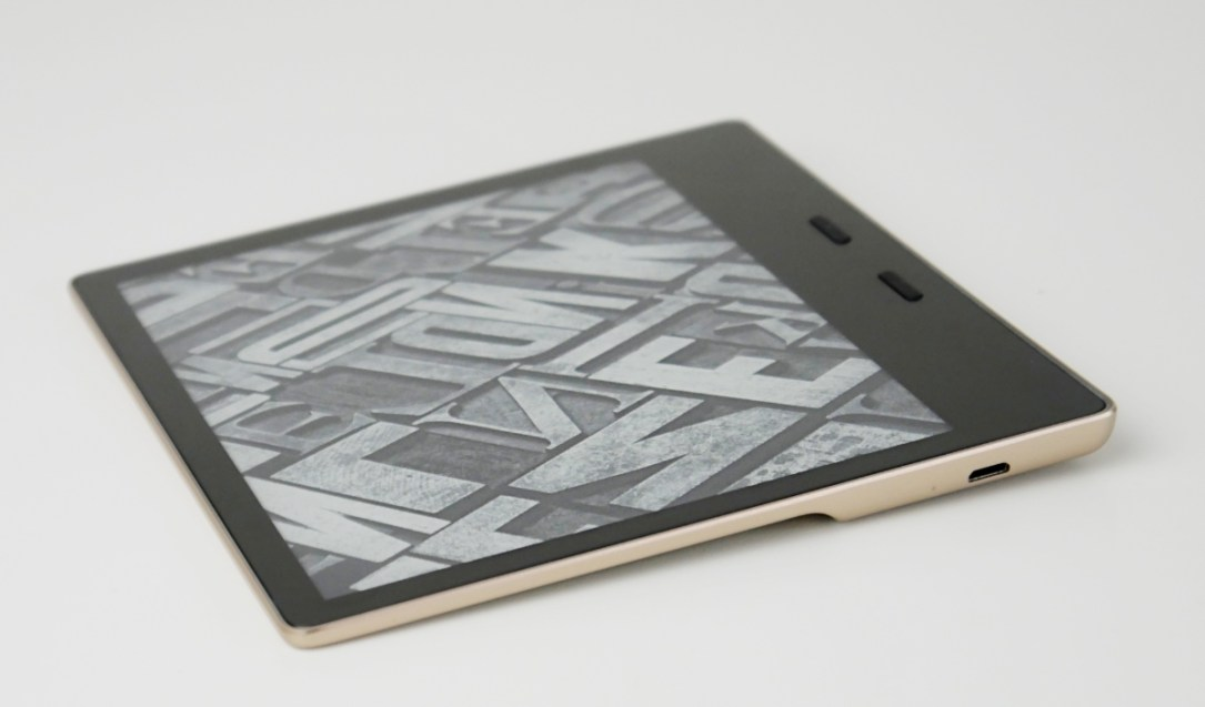 Amazon Kindle Oasis Header