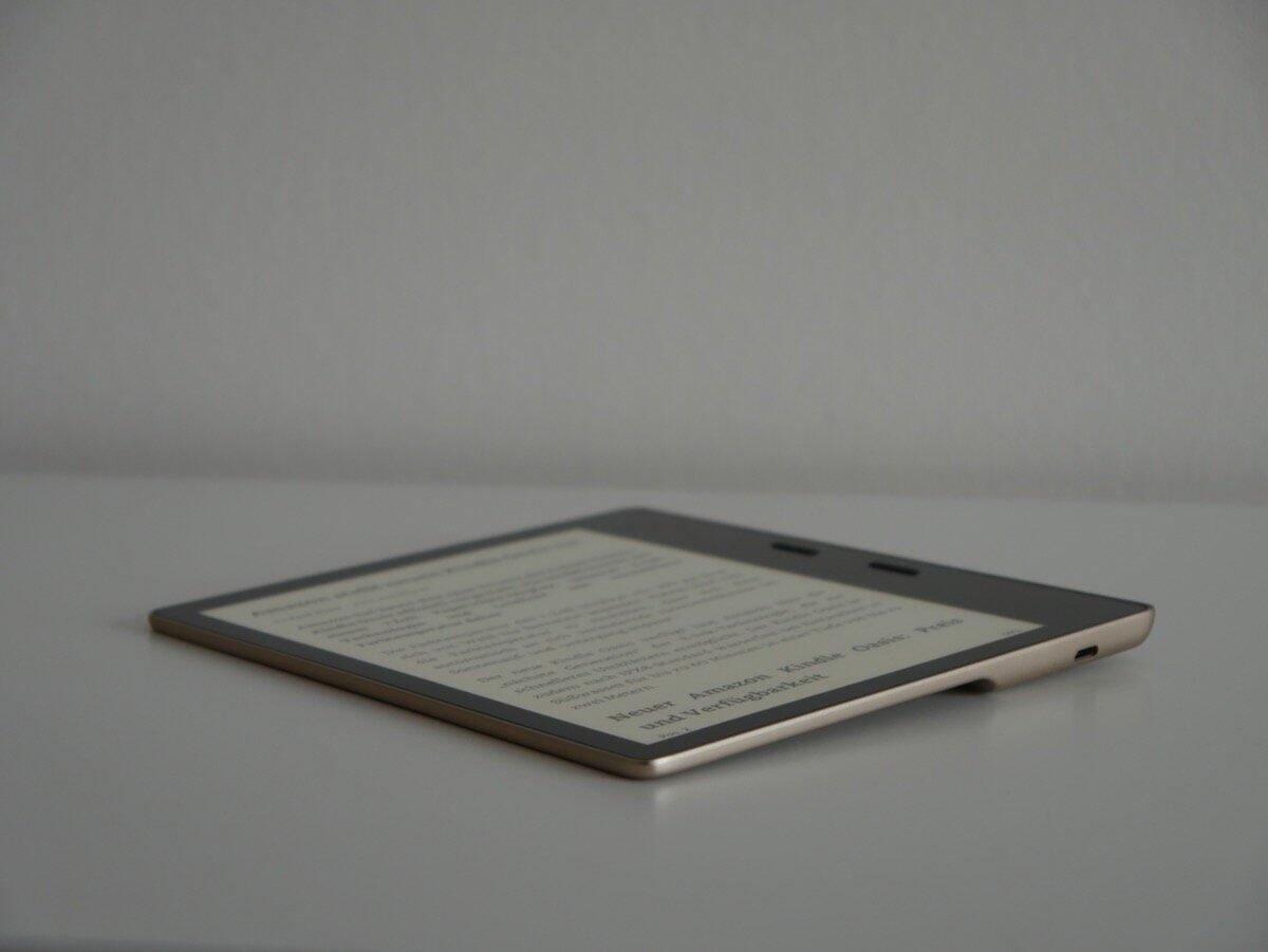 Amazon Kindle Oasis Test1