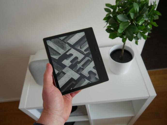 Amazon Kindle Oasis Test3