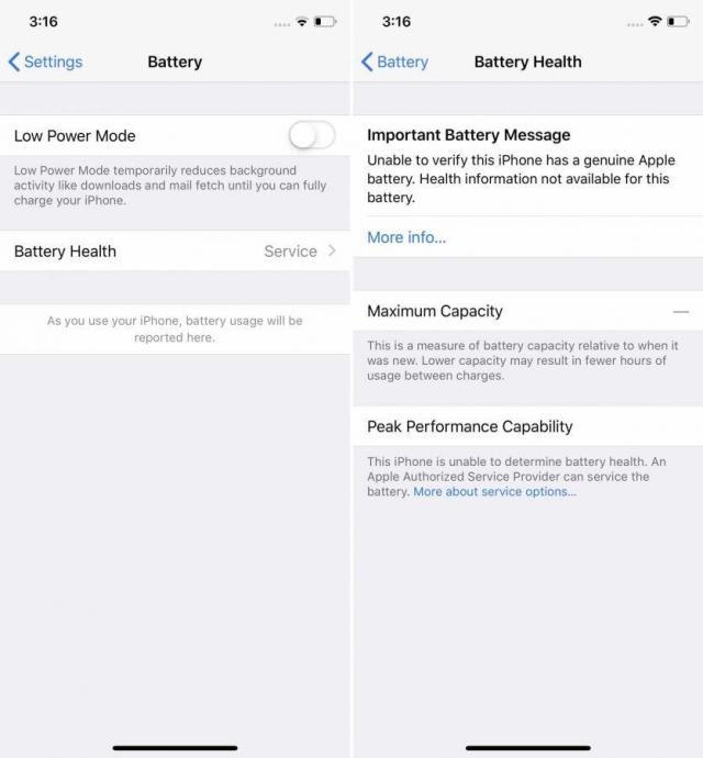 Apple Iphone Akku Hinweis