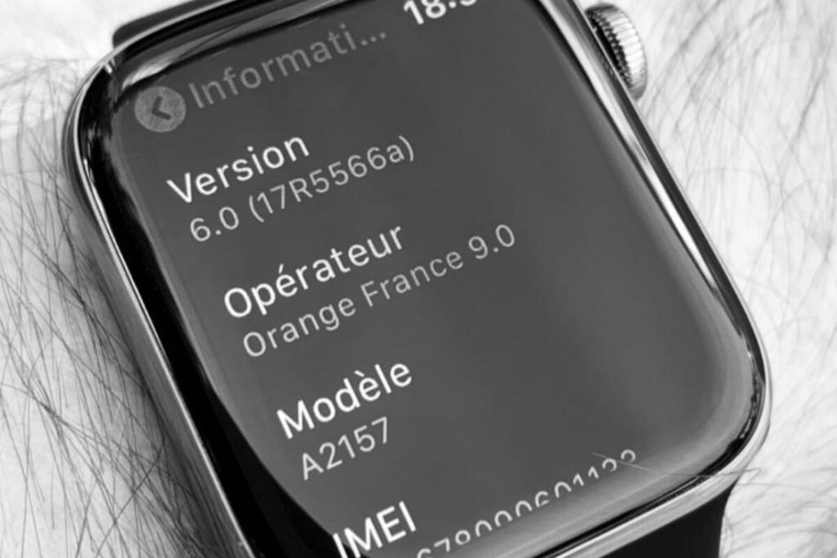 Apple Watch S5 Leak