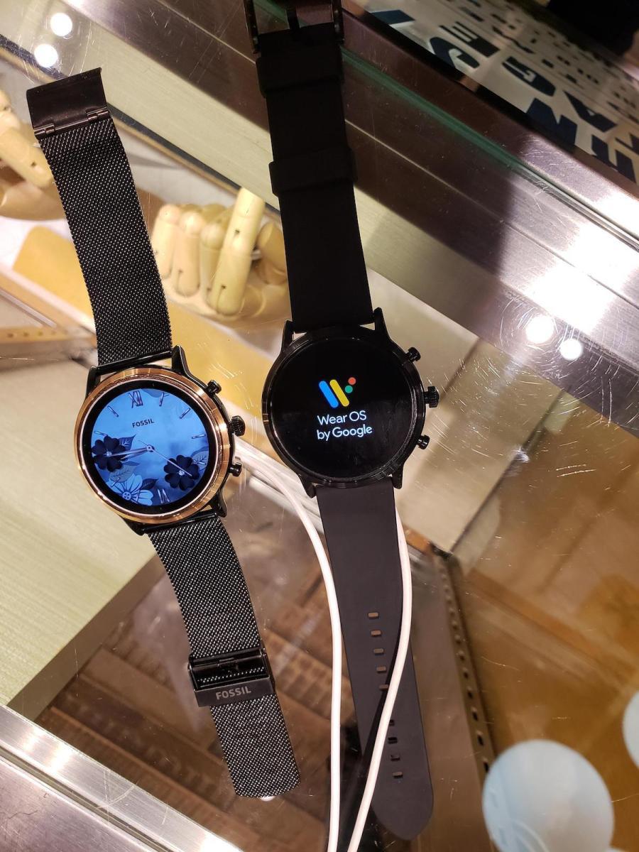 Fossil Smartwatch Leak