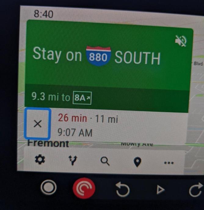 Google Maps Buttons Neu