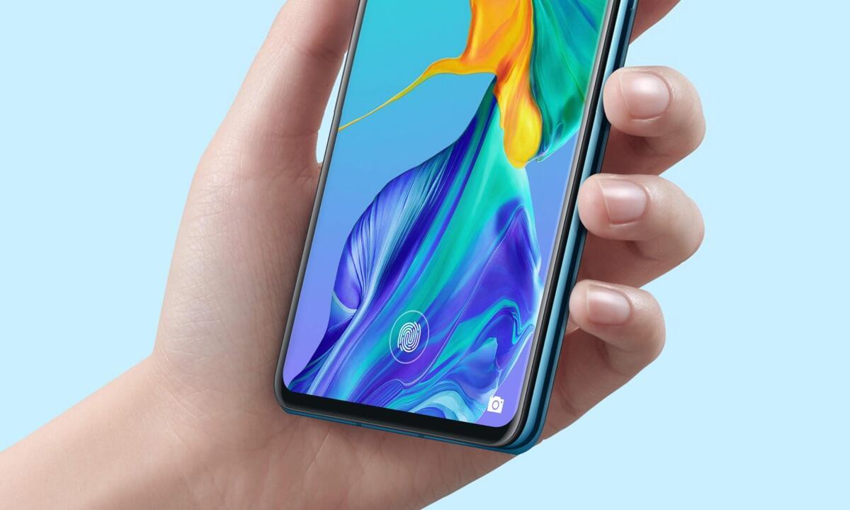Huawei Fingerabdruck