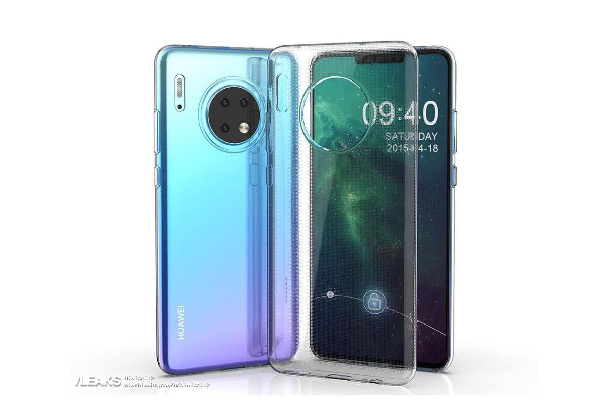 Huawei Mate 30 Leak Case