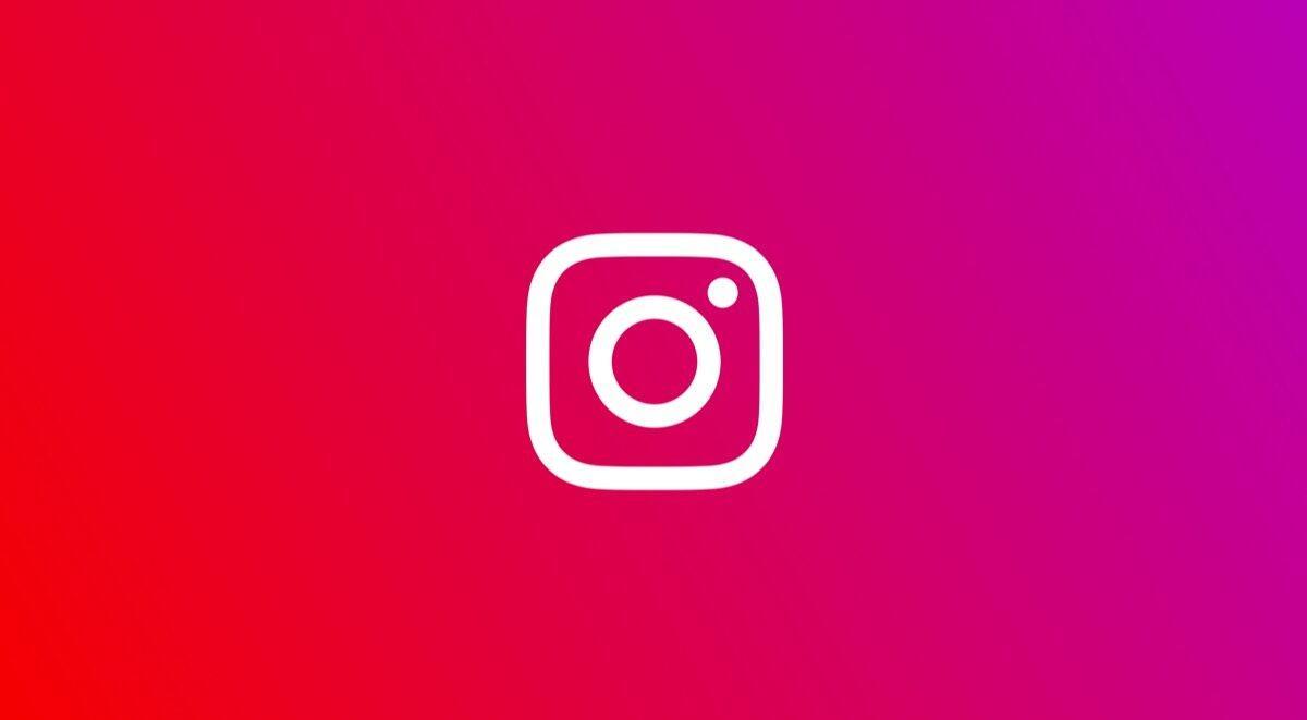 Instagram Icon Logo Header