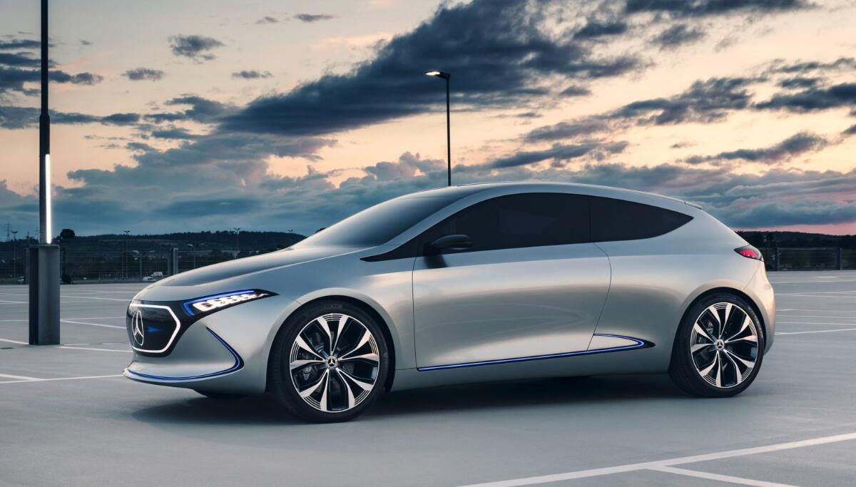 Mercedes Benz Eqa Konzept