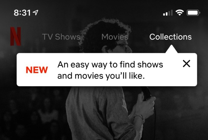 Netflix Collections App