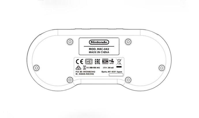 Nintendo Switch Snes Controller Fcc