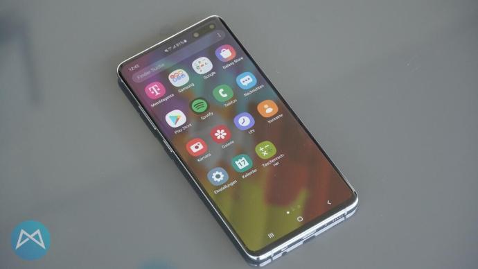 One UI Benutzeroberfläche am S10 5G.