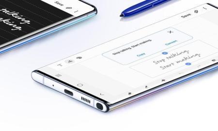 Samsung Galaxy Note 10 Bottom