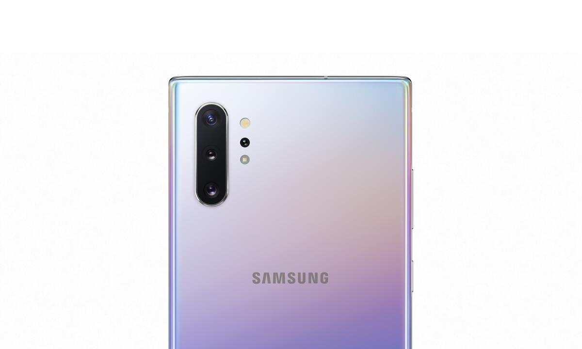 Samsung Galaxy Note 10 Kamera Header