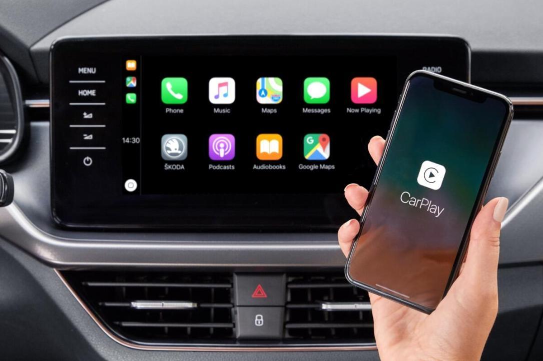android auto und apple carplay koda trennt das kabel. Black Bedroom Furniture Sets. Home Design Ideas