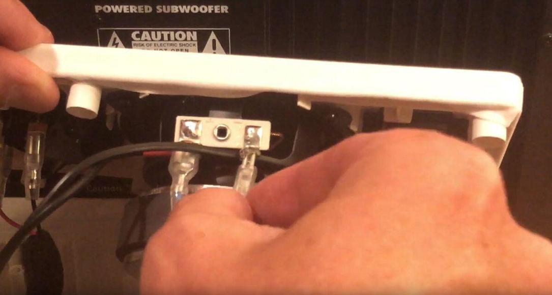 Subwoofer An Ikea Symfonisk Sonos