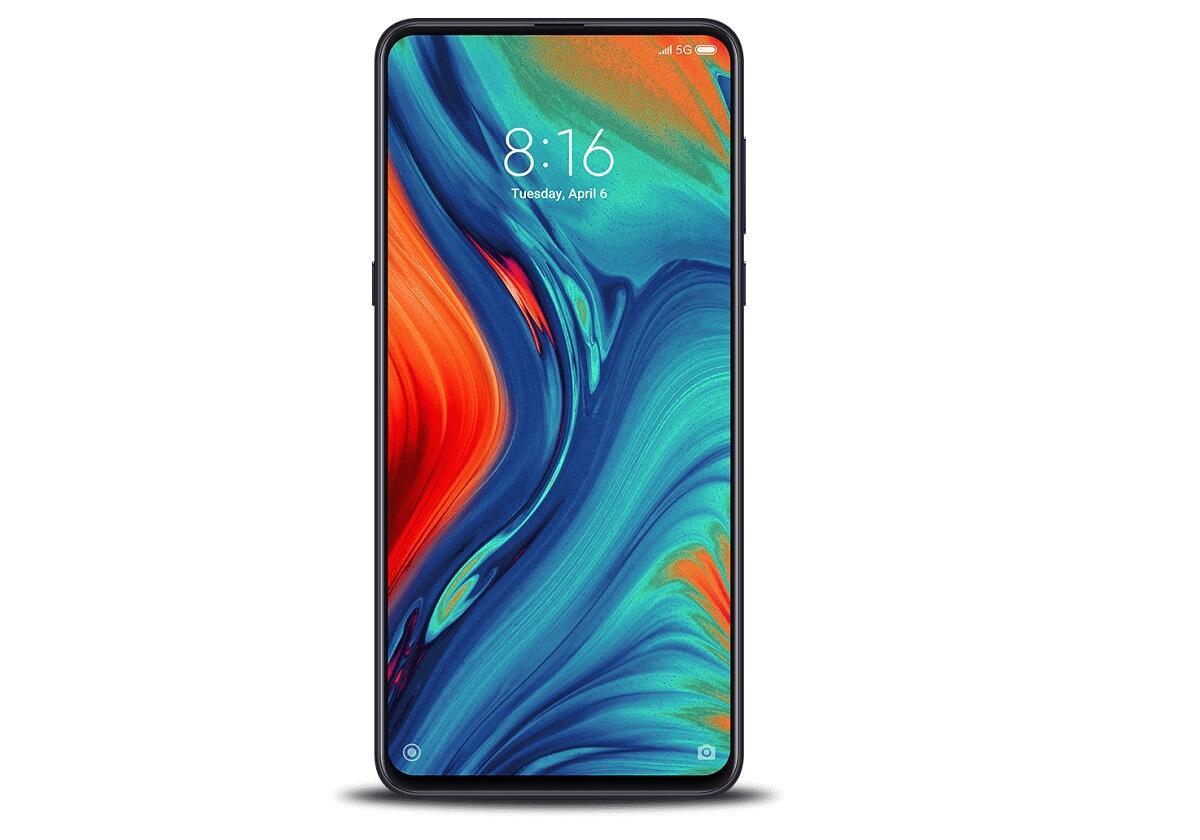 Das Xiaomi Mi Mix 3 5G.