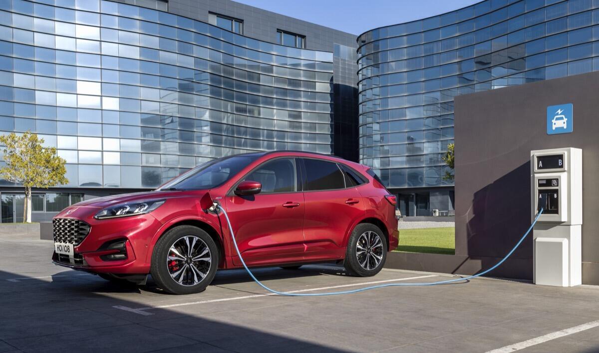2019 Ford Kuga Side Charging